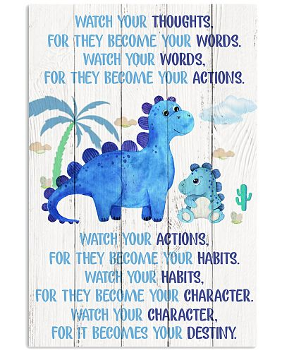 Dinosaur - Watch Your Thoughts - Poster