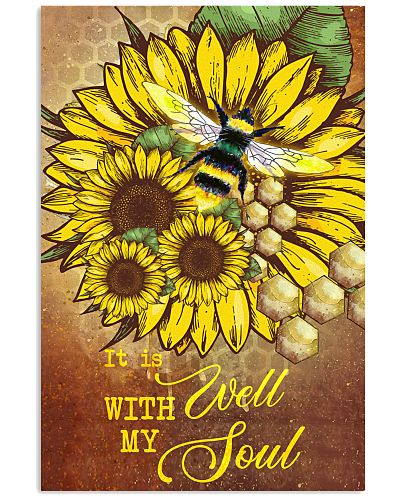 Bee - It's Well With My Soul - Poster