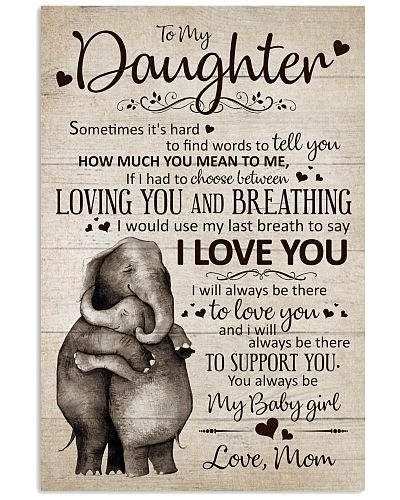 To My Daughter- Loving You And Breathing