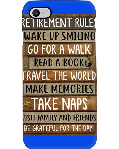 Oldies - Reirement Rules - Poster