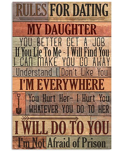 Daughter Dad - Rules For Dating - Poster