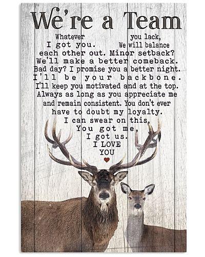Hunting - Couple Deer We're A Team V2