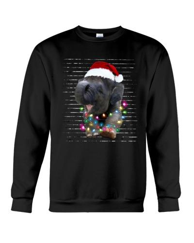 Cute Baby Elephant Christmas