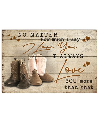 Country - No Matter I Say I Love You Kid Boots