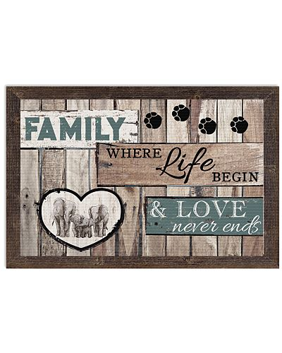 Family Where Life Begin And Love Never Ends