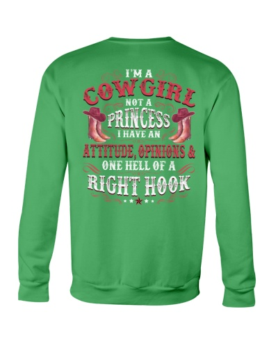 I'm A Cowgirl I Have One Hell Of A Right Hook