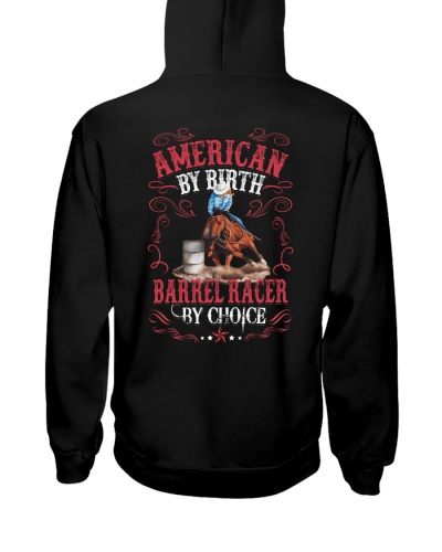 American By Birth Barrel Racer By Choice