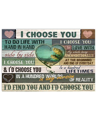 I Choose You Fishing Couple