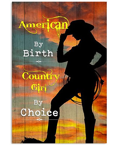 Country - American By Birth Girl By Choice