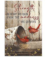 Cardinal-Strength Is What We Gain  11x17 Poster front