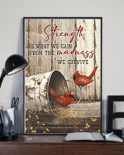 Cardinal-Strength Is What We Gain  11x17 Poster lifestyle-poster-2