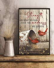 Cardinal-Strength Is What We Gain  11x17 Poster lifestyle-poster-3