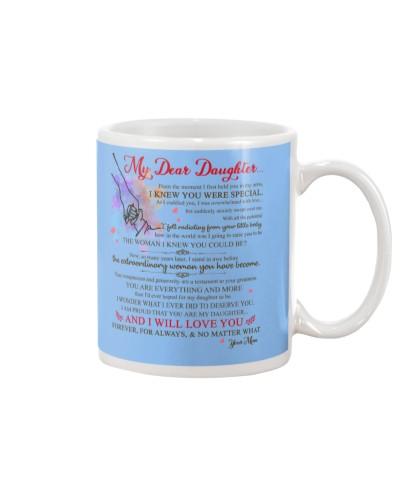 Daughter Mom - I Love You Forever - Mug