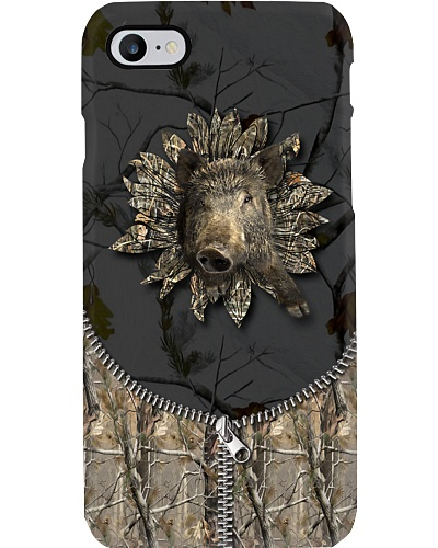 Hunting - 3D Wild Boar With Camo Sunflower