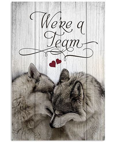 Wolf  - We Are A Team Quote Only