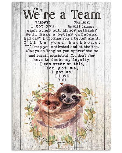 Sloth - We're A Team