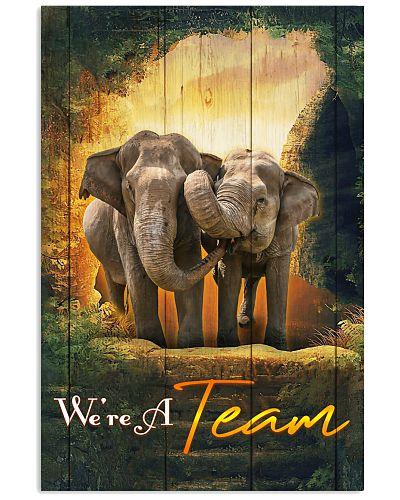 Elephant- We Are A Team Jungle