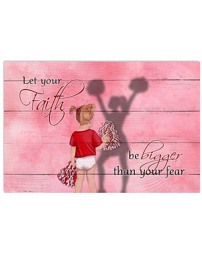 Cheerleader - Let Your Faith Be Bigger