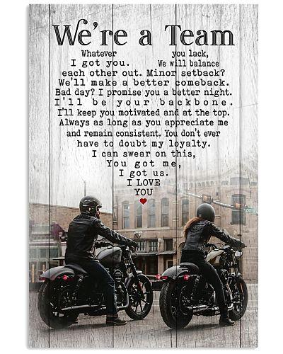 Motocross - We're A Team On Road