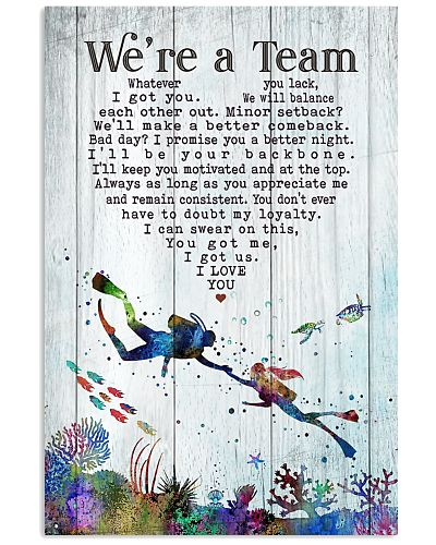 Scuba Diving - We're A Team