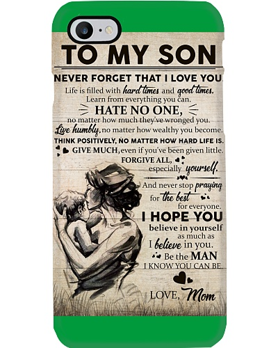 To My Son - Mother Son