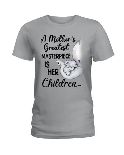 Elephant - Mother Masterpiece - Shirt