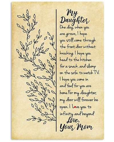 Daughter Mom - One Day - Poster