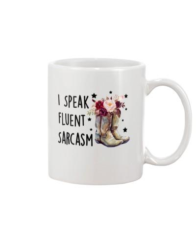 Country - I Speak Fluent Sarcasm - Mug