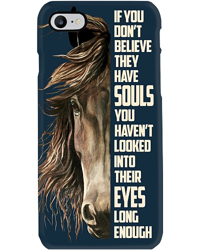 If You Don't Believe They Have Souls