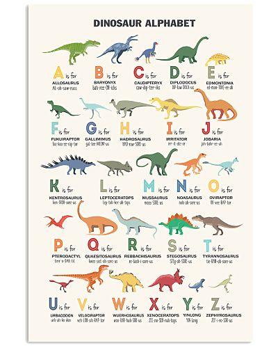 Dinosaur - Alphabet - Poster