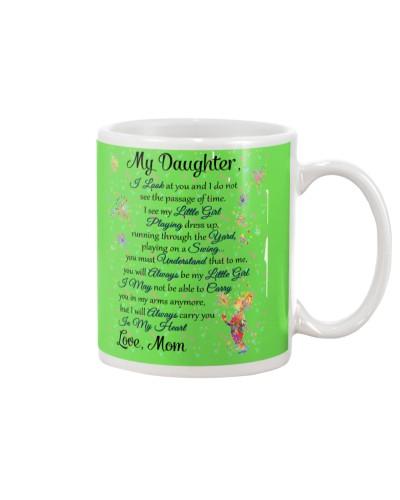 Daughter Mom - I See My Little Girl - Mug