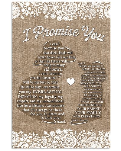 Country - I Promise You Burlap Style