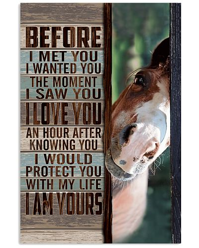 Horse - I Would Protect You With My Life