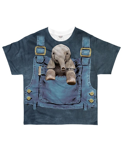 Elephant Cute Pocket
