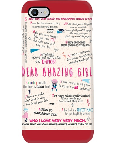 Daughter Mon - Dear Girl - Poster