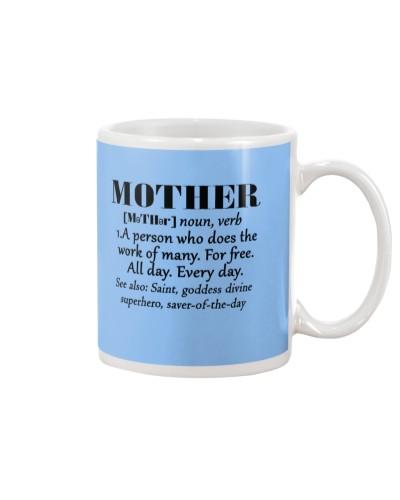 Daughter Mom - Definition Of Mother - Mug