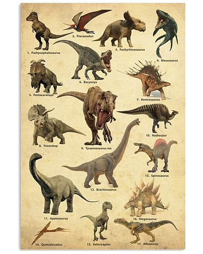 Dinosaur Poster Collection