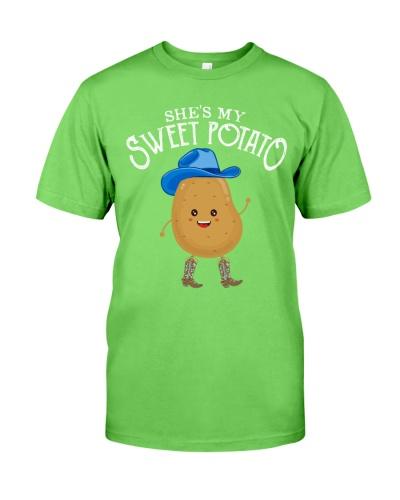 Couple - She's My Sweet Potato Yes I Yam