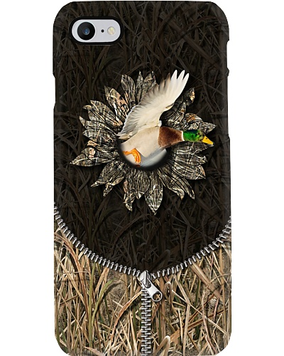 Hunting - 3D Duck With Camo Sunflower