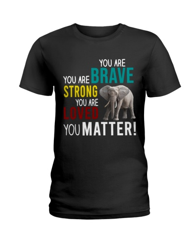 Elephant - You Are Strong - Shirt