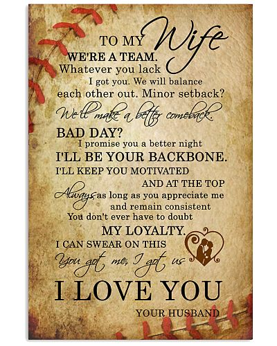 All Is Love - To My Wife - Poster