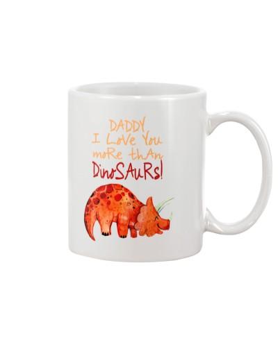 Dinosaur - I Love You - Mug