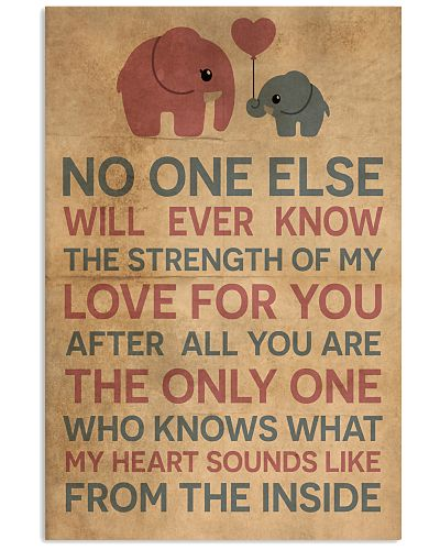 Elephant - The Only One - Poster