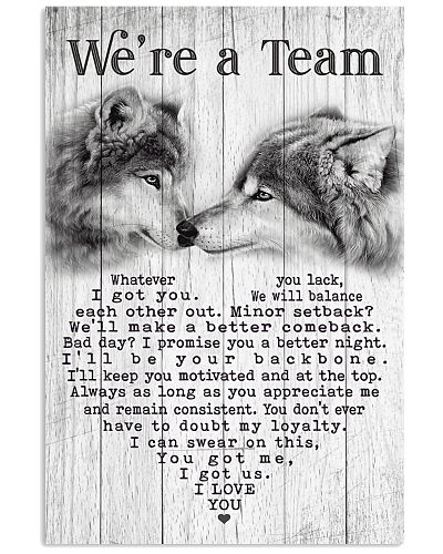 Wolf - We're A Team V3