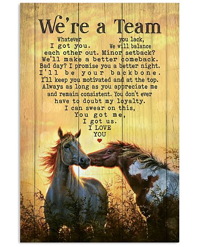 Horse - We're A Team Summer Time