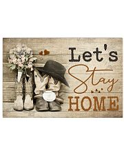 Country- Let's Stay Home 17x11 Poster front