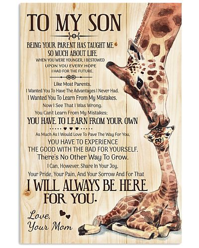 Son Mom - Being Your Parent - Poster
