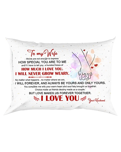 All Is Love - To My Wife - Pillow