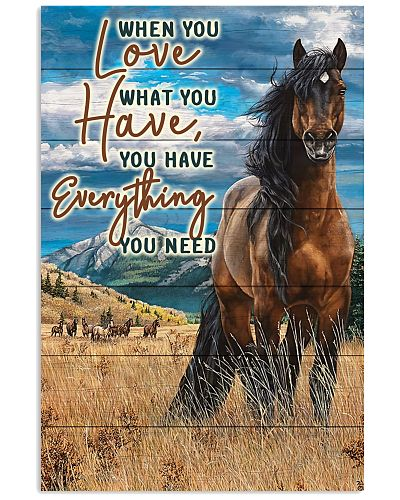 Horse - When You Love What You Have V1