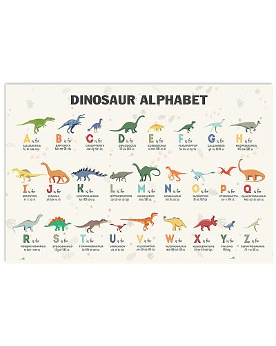 Dinosaur - Alphabet Of Dinosaurs 2